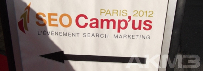SEO Campus 2012 in Paris