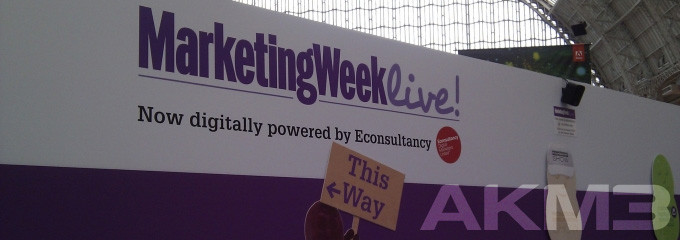 Die AKM3 auf der Online-Marketing Show in London