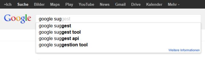 Google.Suggest