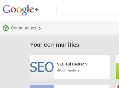 SEO-community-google-plus