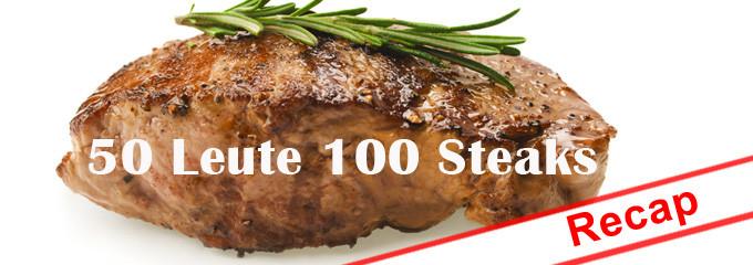 50 Leute 100 Steaks