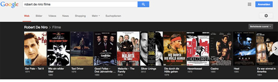 Robert De Niro Filme Search