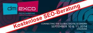 dmexco 2014 SEO-Beratung
